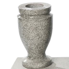 Bild på Vas nr 4 Polerad lj-grå