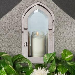 Bild på Lyktram Gotisk öppn. framsida