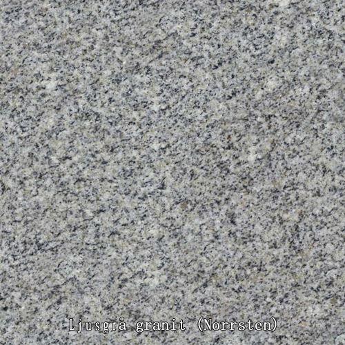 Ljusgrå granit