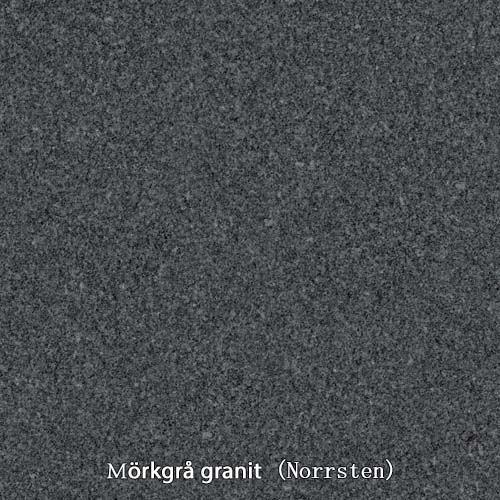 Mörkgrå granit